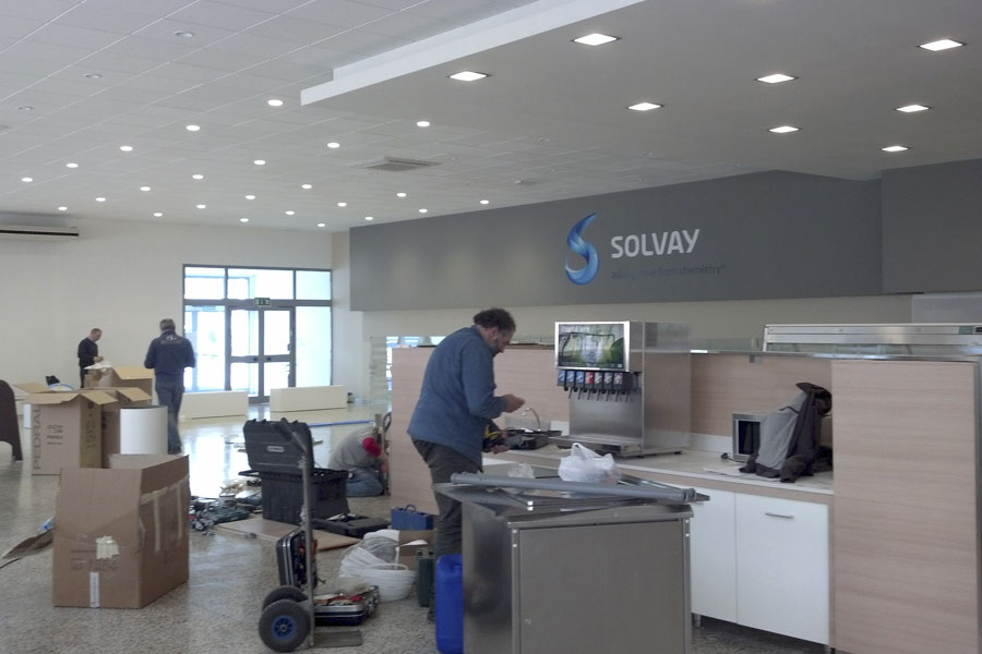 Mensa Solvay